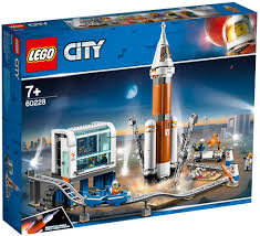 LEGO® CITY - CITY SPACE PORT - DEEP SPACE ROCKET AND LAUNCH CONTROL -60228