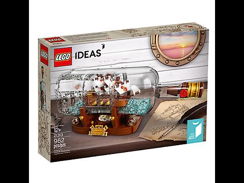 LEGO® IDEAS - SHIP IN A BOTTLE -92177