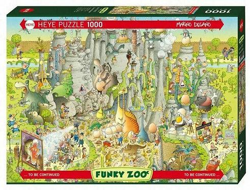 1000PC PUZZLE - JURASIC HABITAT - 29727