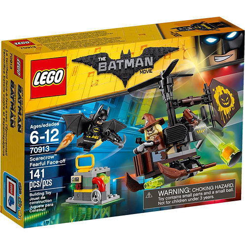 LEGO® THE BATMAN MOVIE SCARECROW FEARFUL FACE-OFF