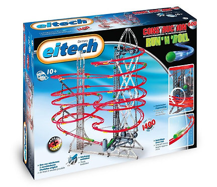 EITECH DELUXE - MARBLE RUN 'n ROLL CONSTRUCTION SET - C600
