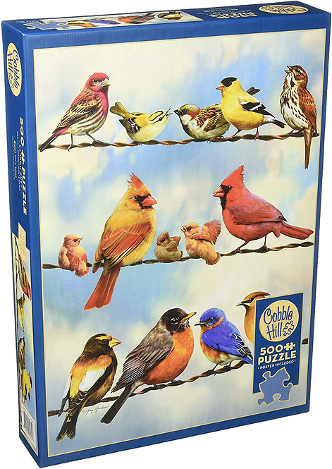 500PC PUZZLE - BIRDS ON A WIRE - 85034