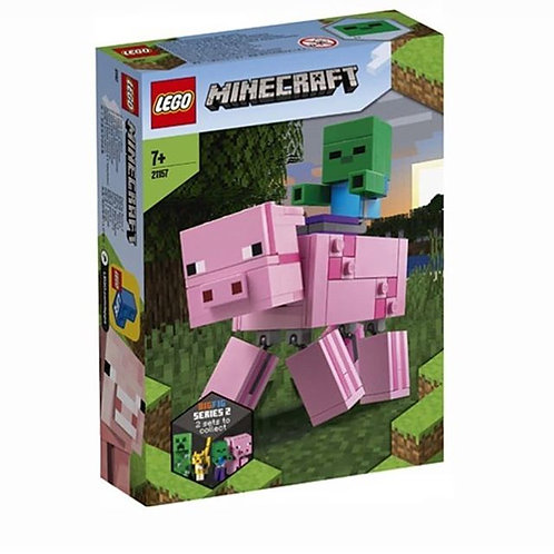 LEGO® MINECRAFT - BIG FIG PIG WITH BABY ZOMBIE - 21157