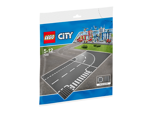 LEGO® CITY - T-JUNCTION AND CURVE