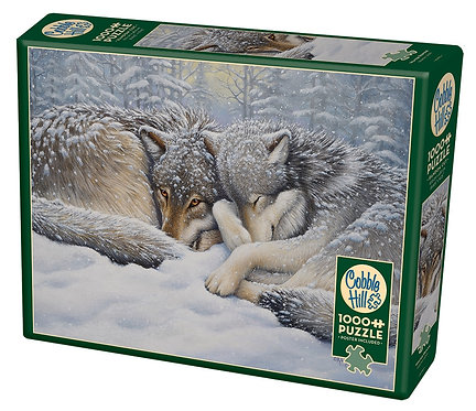 1000PC PUZZLE - WINTER REPOSE -80190