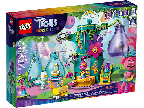 LEGO® TROLLS WORLD TOUR - POP VILLAGE CELEBRATION - 41255
