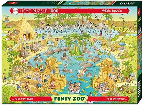 1000PC PUZZLE - NILE HABITAT - 29693