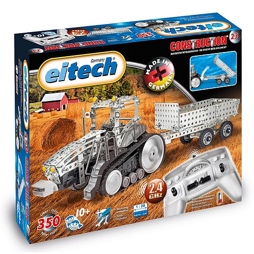 EITECH - RADIO CONTROLLED TRACTOR WITH TRAILER - C23