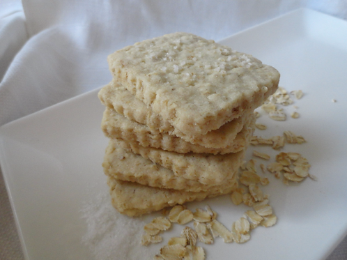 Salted Oatmeal Shortbread - 1 Dozen