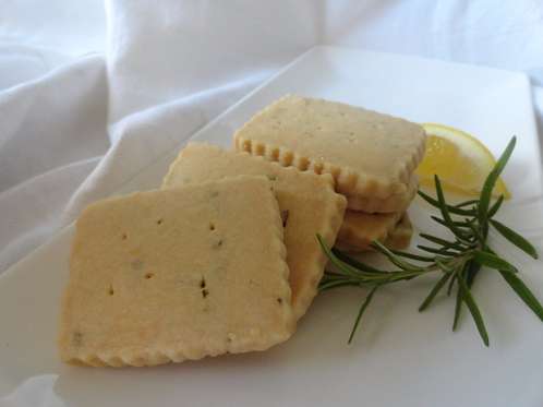 Lemon Rosemary Shortbread - 1 Dozen