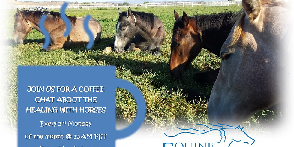 COFFEE CHAT ABOUT THE HEALING WITH HORSES