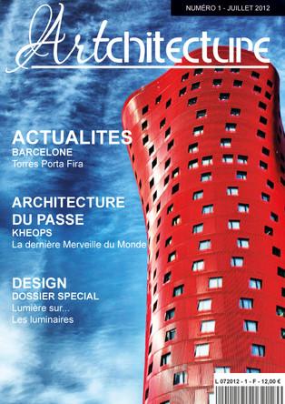 Maquette Couverture Magazine