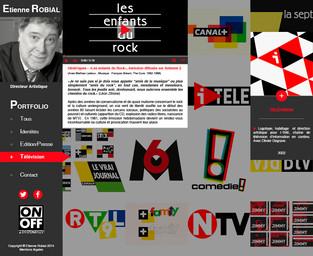 Portfolio Etienne Robial - Télévision