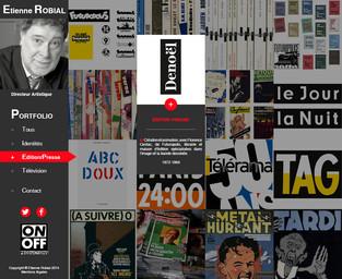 Portfolio Etienne Robial - Edition / Presse