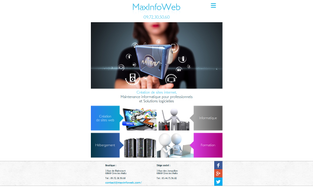 Maxinfoweb - Page accueil tablette