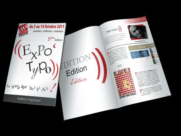 Couverture Catalogue + intérieur