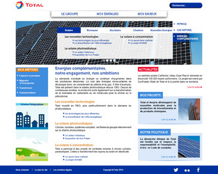 Total - Page Energies complémentaires