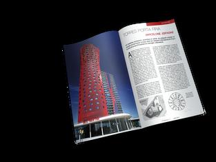 Maquette intérieur magazine - Dossier Actualités