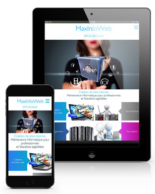 Maxinfoweb Mockup Mobile