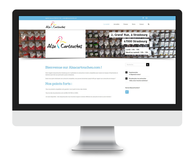 Création du site Alsacartouches