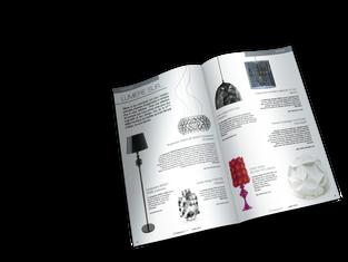 Maquette intérieur magazine - Dossier spécial Design