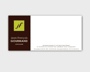 Carte correspondance Jean François Gourmand