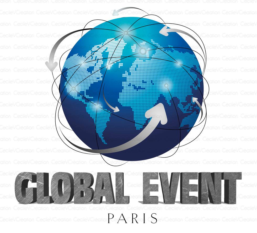 Global Event Paris - Logo sans reflet