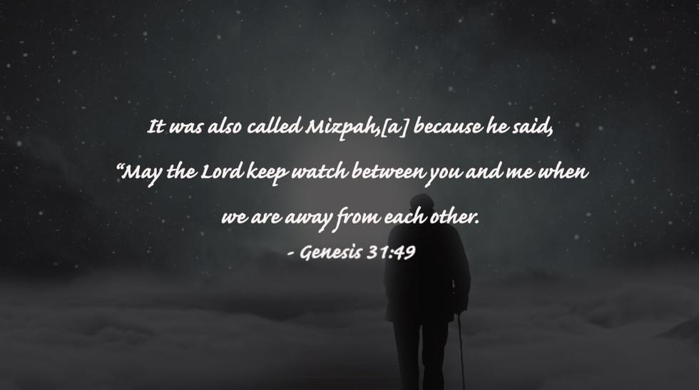 Genesis 31:49