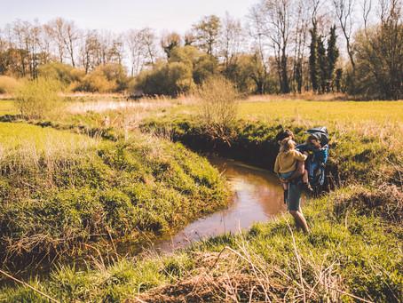 Rebels de grens oversteken via de vallei van Het Merkske (Hoogstraten)