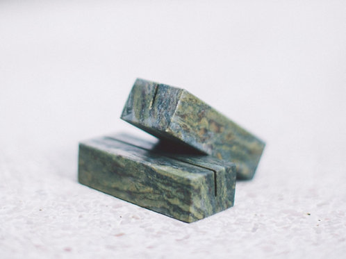 Limited Edition Marble Holder - Emerald