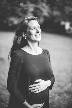 Emilie zwangerschap-1967