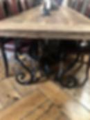 reclaimed oak tables