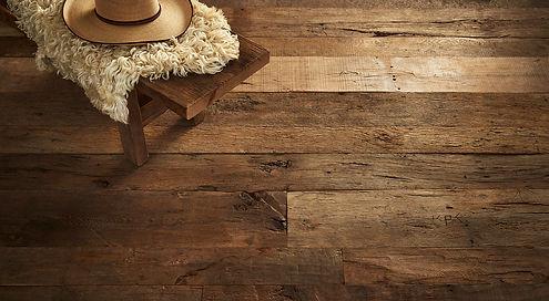 Reclaimed french oak floors