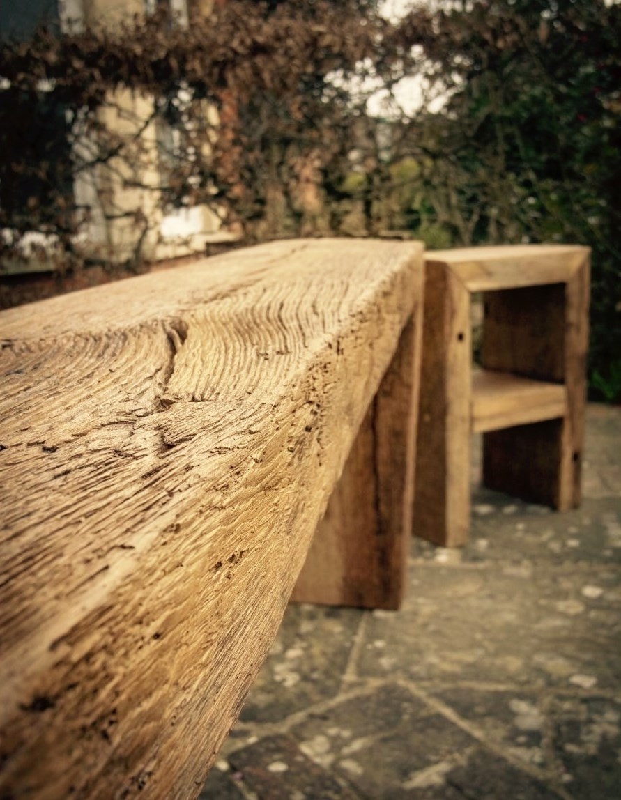 Reclaimed French Oak Timber