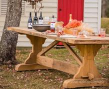 Reclaimed French Oak Table