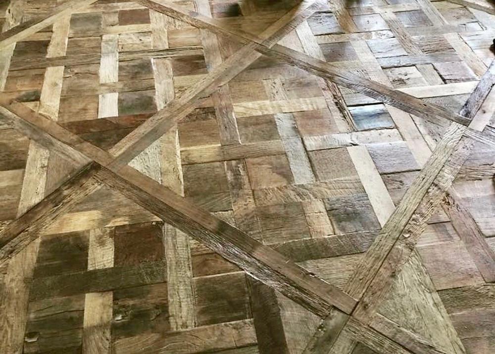 Reclaimed French Oak Panels