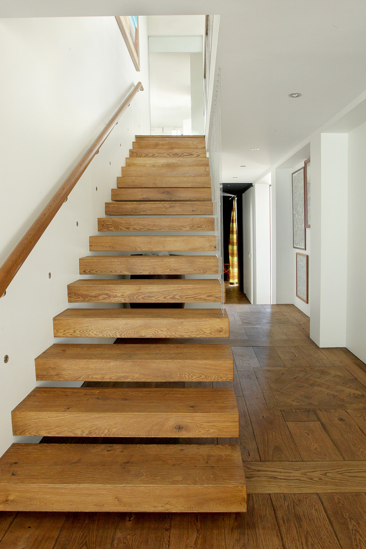 French Oak Solid Stairs
