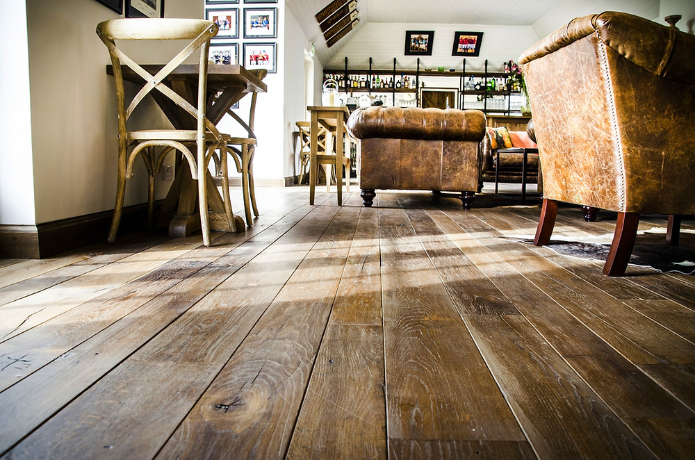 Reclaimed Oak Floor