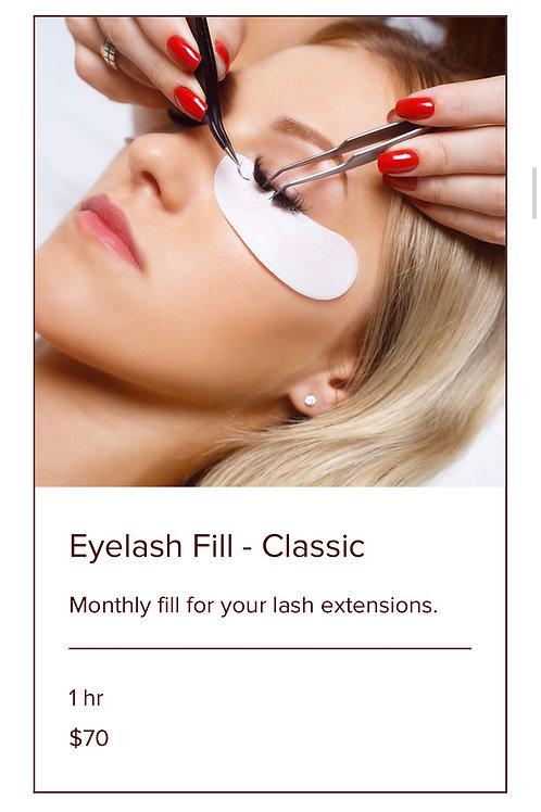 EYELASH FILL-CLASSIC