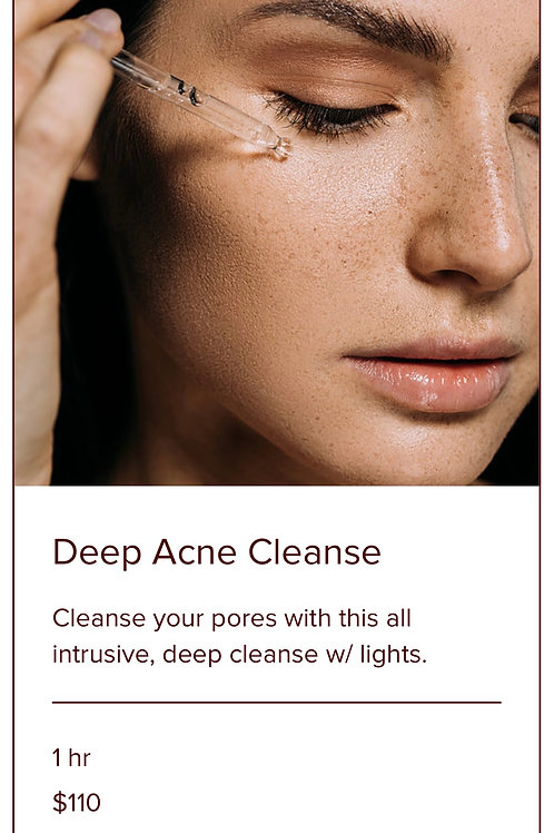 DEEP ACNE CLEANSE