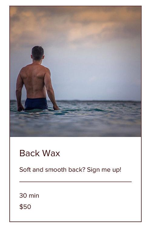 BACK WAX