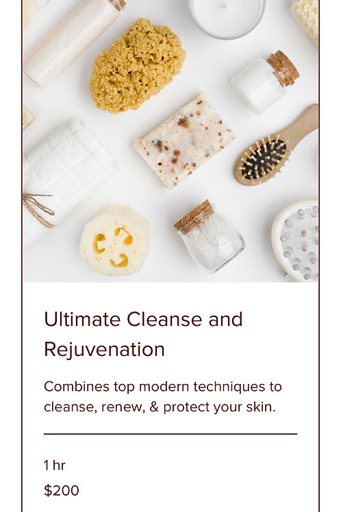 ULTIMATE CLEANSE AND REJUVENATION