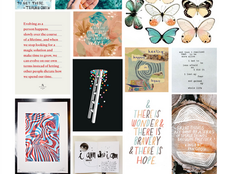 THESIS 1.1 - Mood Boards and Ideas