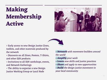 making membership active