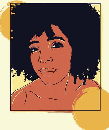 Illustrated Self Portrait
