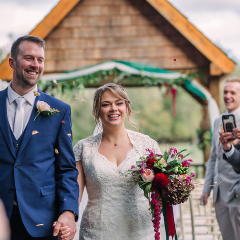 Autumn Wedding at Howfield Manor