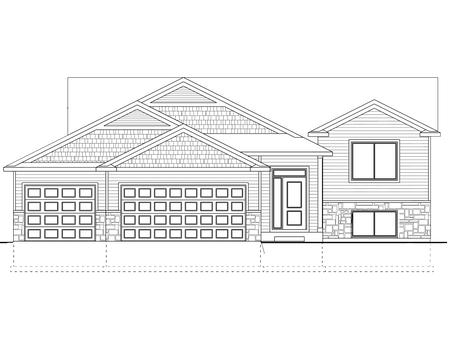 Berge Builders New Model Home At 732 Towne Dr. NE Byron, MN