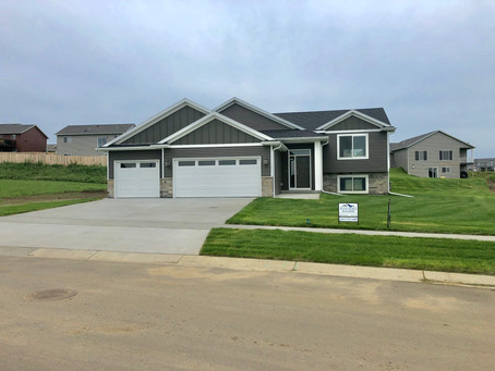 Model Home At 732 Towne Dr. NE Byron, MN (Finished)