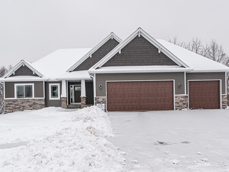 Berge Builders Newly Finished Home