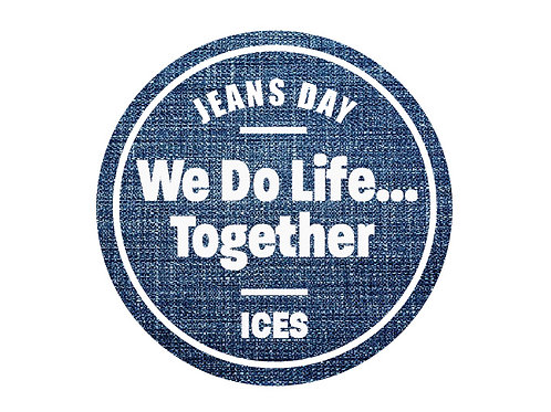 1 Jeans Day Sticker